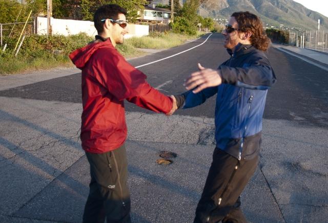 Dude, It's OK To Hug Your Bro